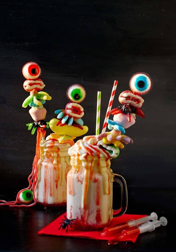 Gruseliges fürs Halloween-Buffet