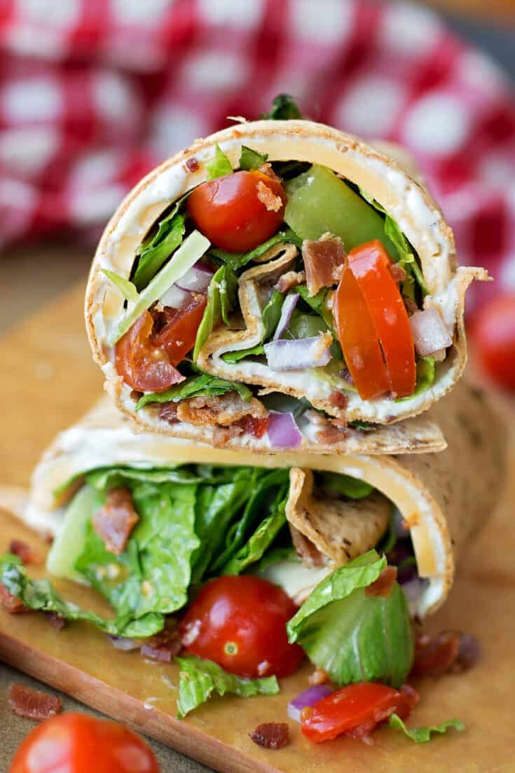 Flatout Wraps Recipe - Weight Watchers Approved!