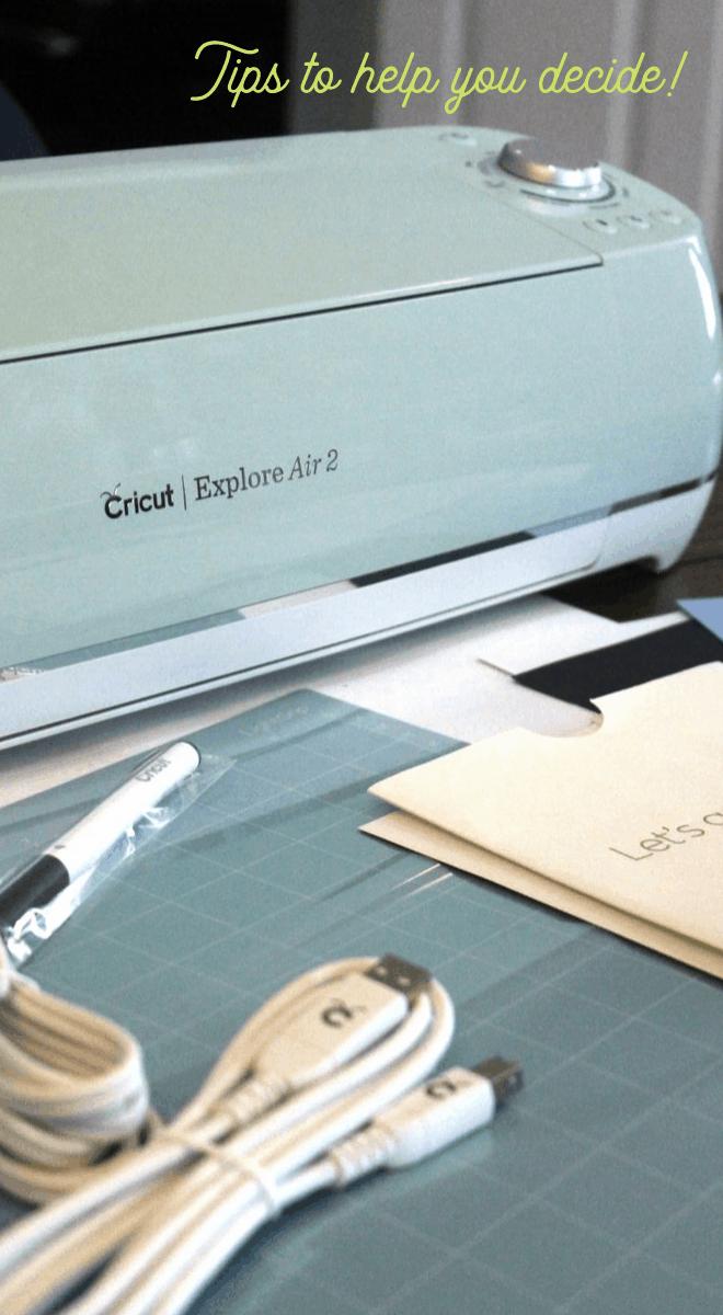 Comparing Cricut and Silhouette Cutting Machines