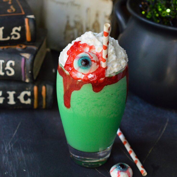 Eye of Toad Halloween Milkshake Recipe