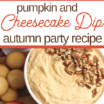 Autumn Dip for snack dessert or appetizer