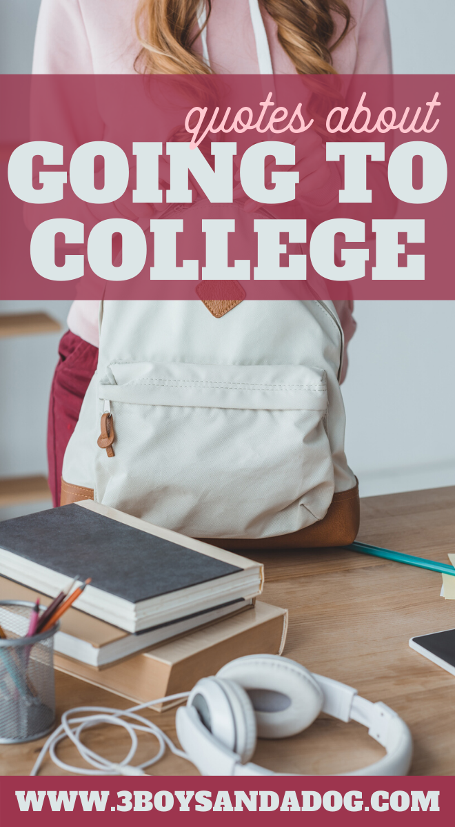 quotes for teens entering college