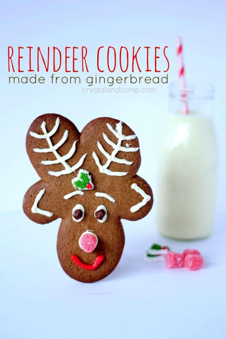 Easiest Ever Reindeer Cookies