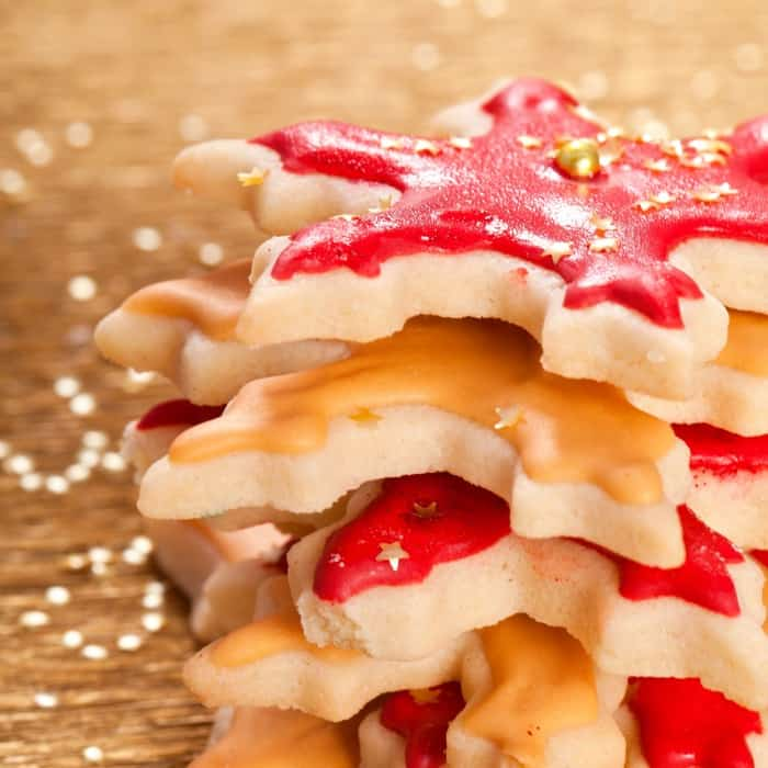 Vegan Sugar Cookies that Won't Spread