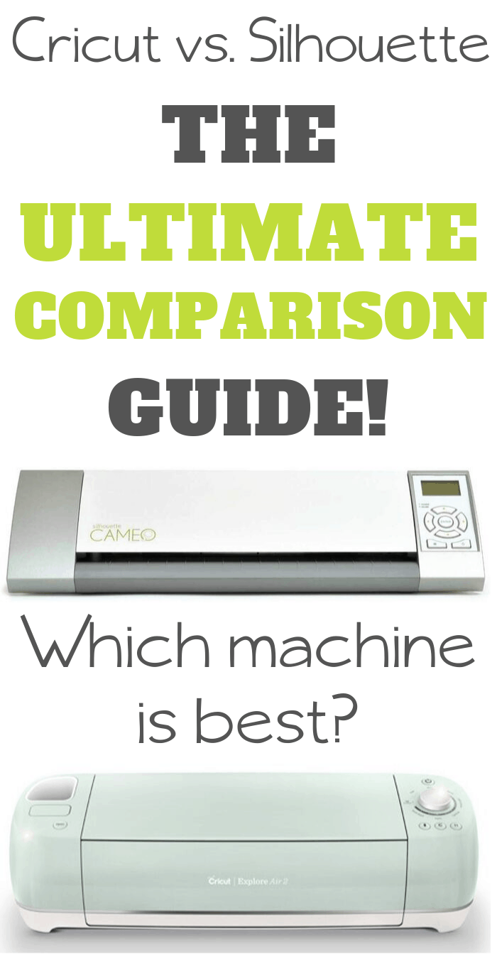 cricut vs silhouette which cutter is best