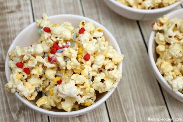 Easy Princess Party Popcorn