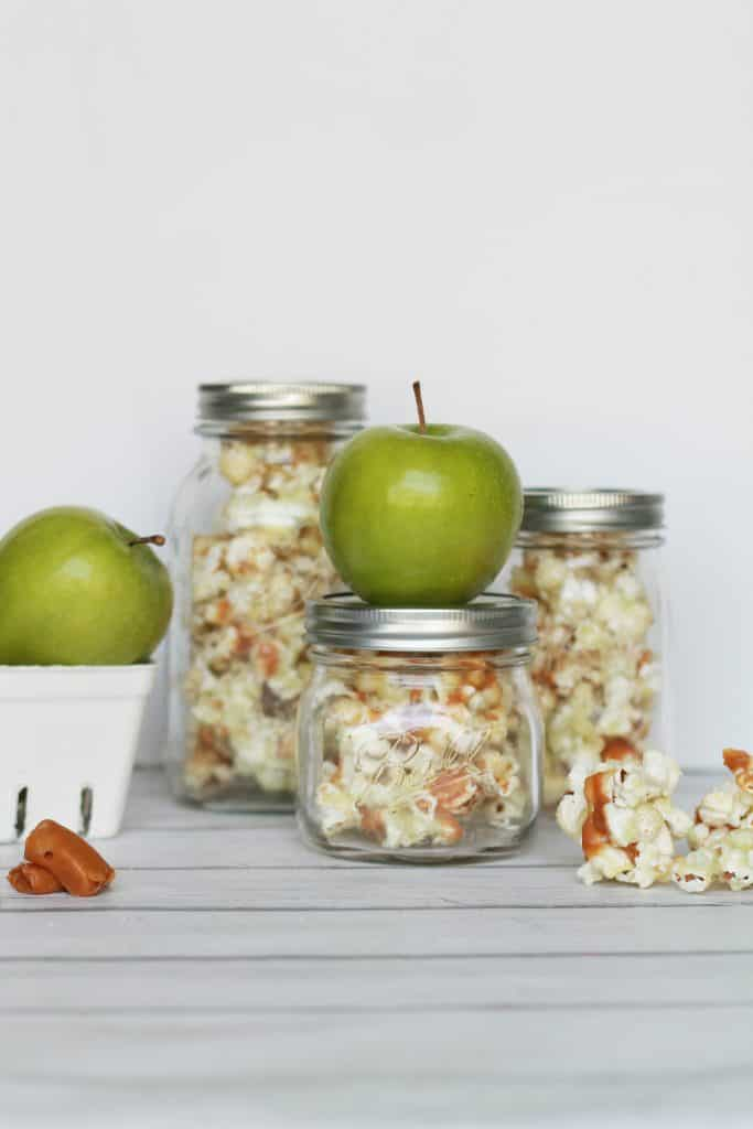 Candied Caramel Apple Popcorn