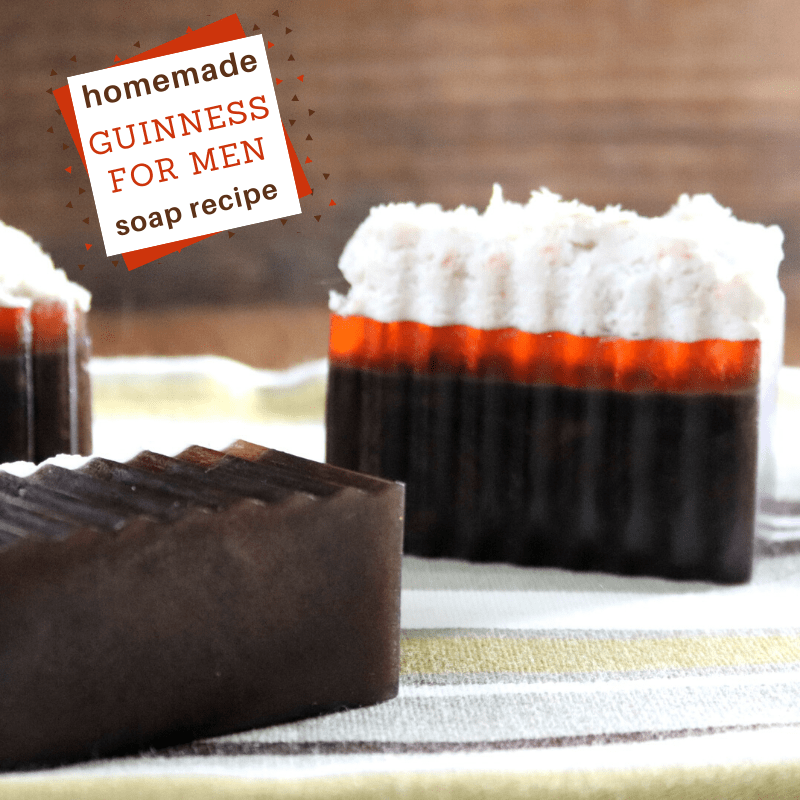 Guinness layered soap diy recipe
