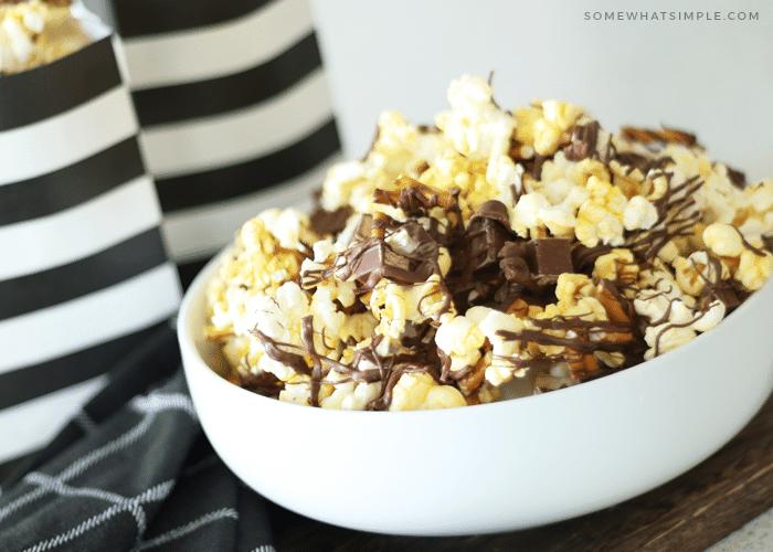 Kit Kat Pretzel Gourmet Popcorn