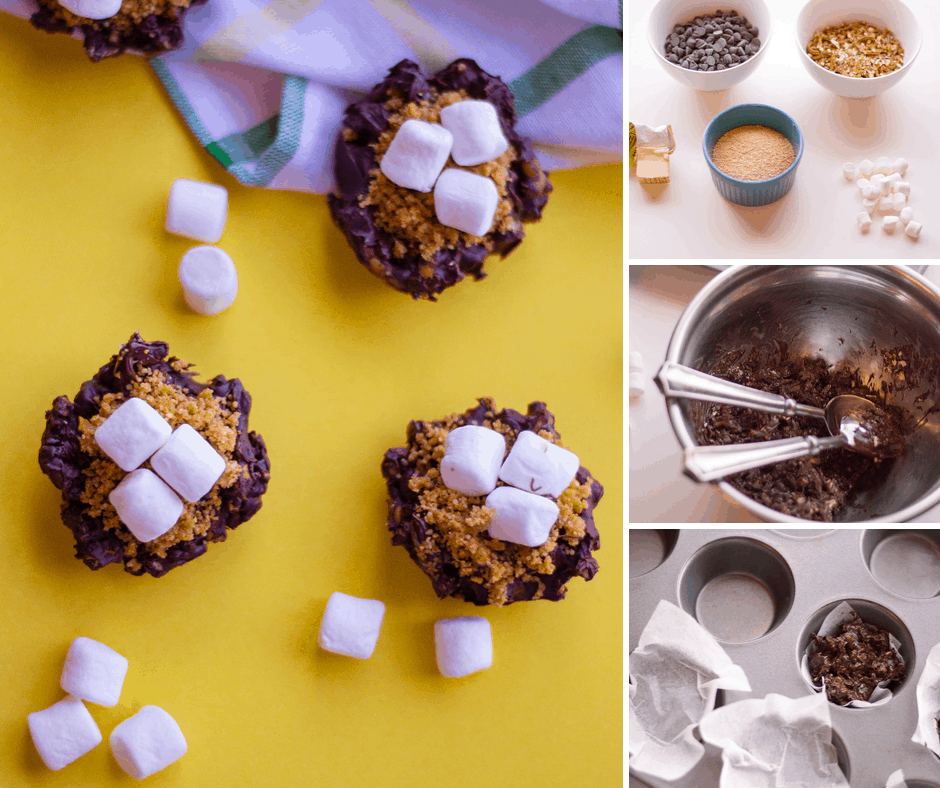 how to make pretzel cup smores