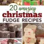 Over 20 delicious Christmas Fudge Candies
