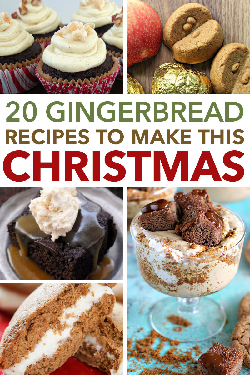 20+ Gingerbread Recipes - Perfect Winter Treat