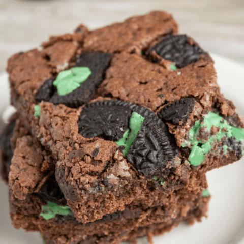 Mint OREO Brownies Recipe