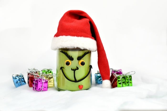 DIY Green & Mean Candle