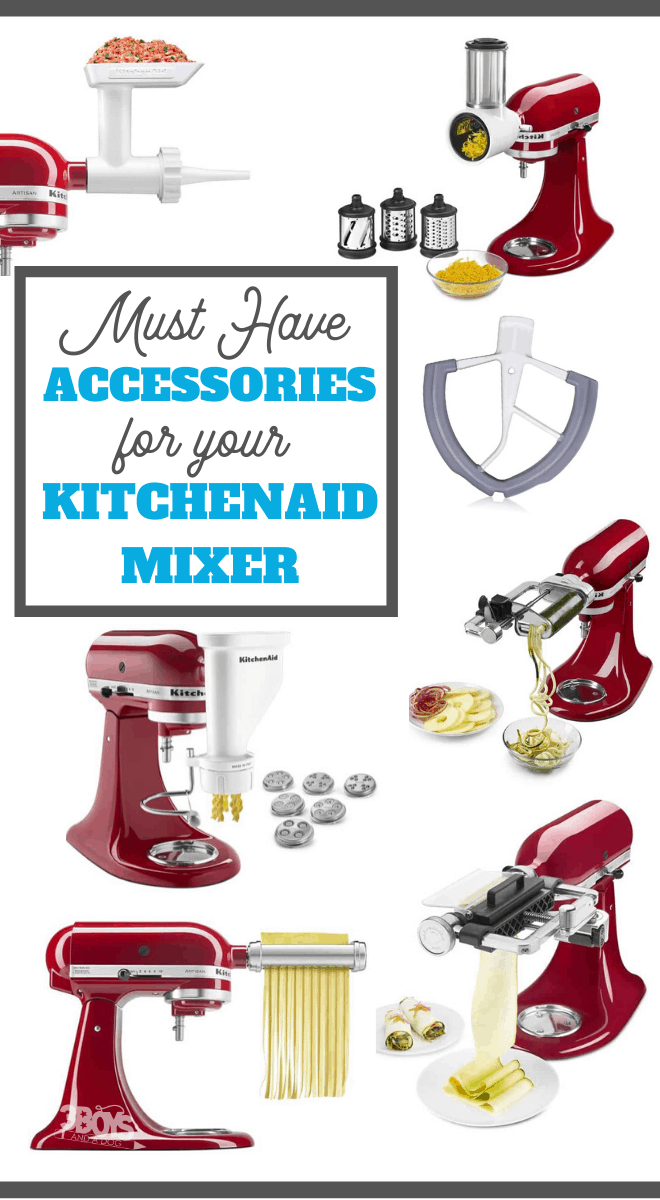Must have accessories for the KitchenAid Stand Mixer