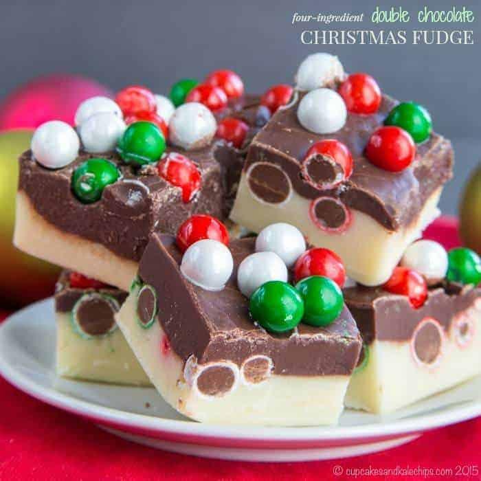 Double Chocolate Christmas Fudge