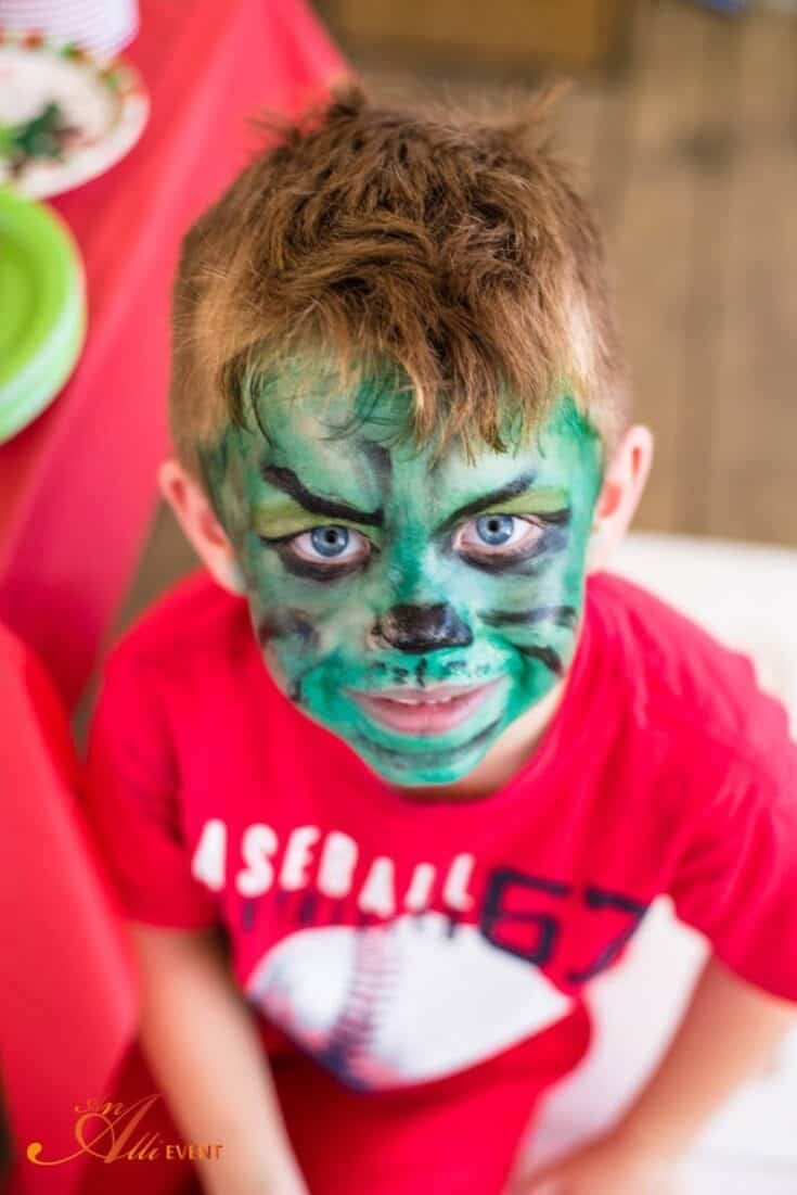 How the Grinch Stole Christmas Birthday Party