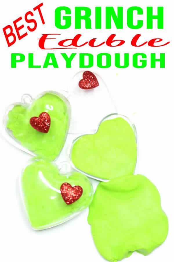 Grinch Edible Playdough