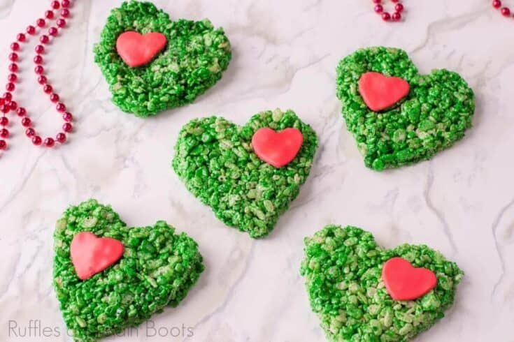 Grinch Rice Krispies Treats