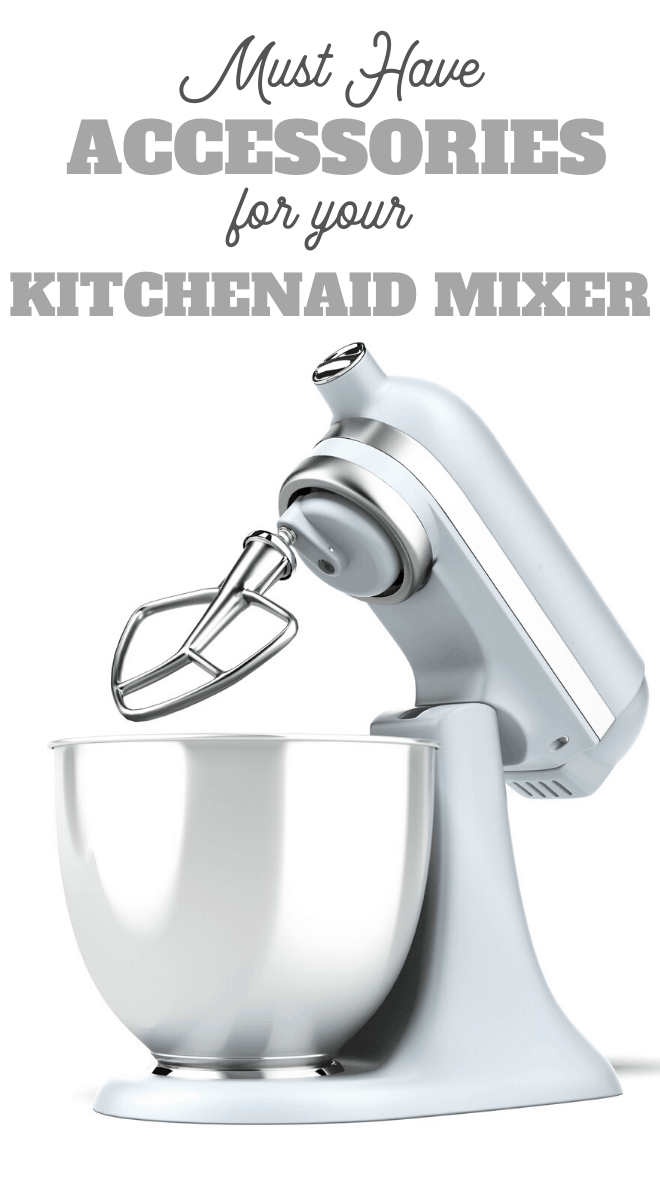 Extend the use of your KitchenAid mixer with any combination of these attachment accessories
