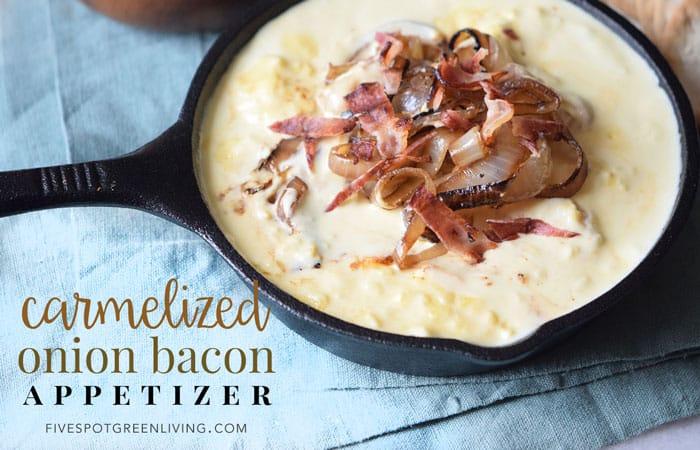 Onion Bacon Dip