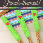 sweet and salty grinch treats