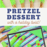 candy coated pretzel rods for christmas