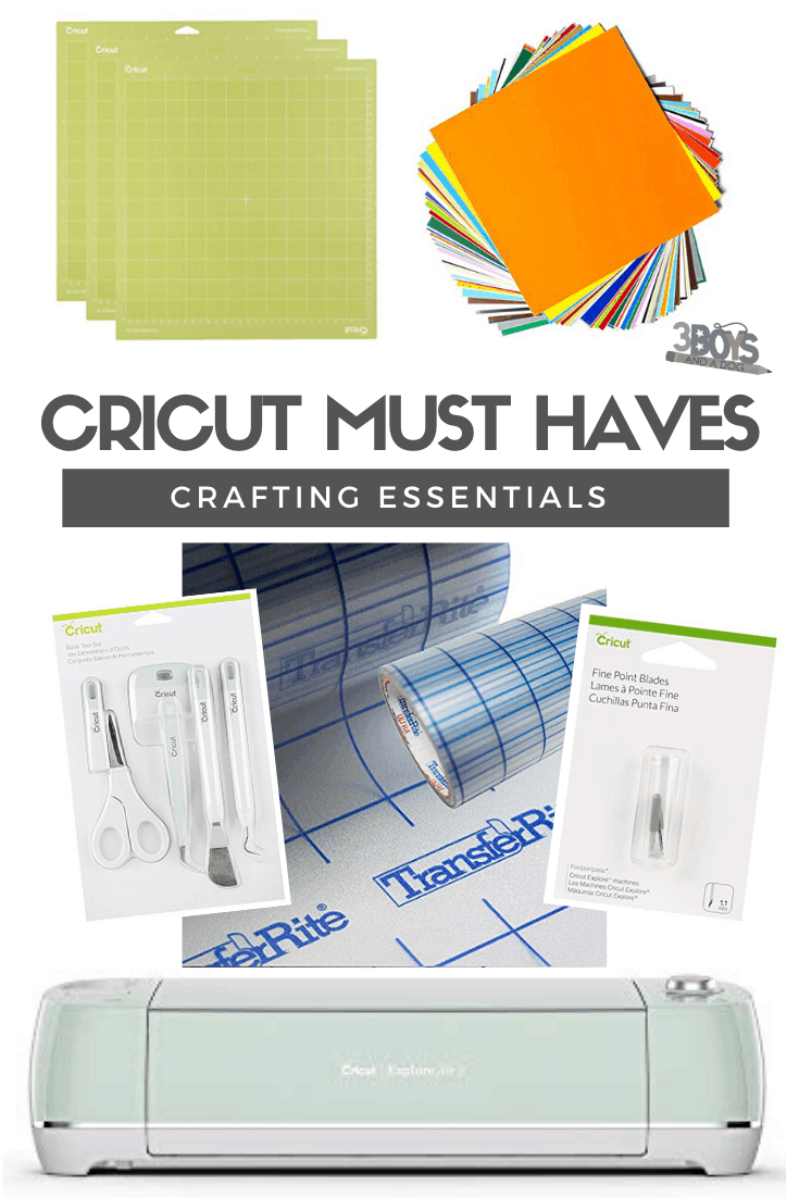 cricut must have items and accessories