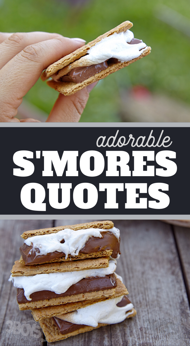 use these adorable smores quotes in your scrapbooking layouts