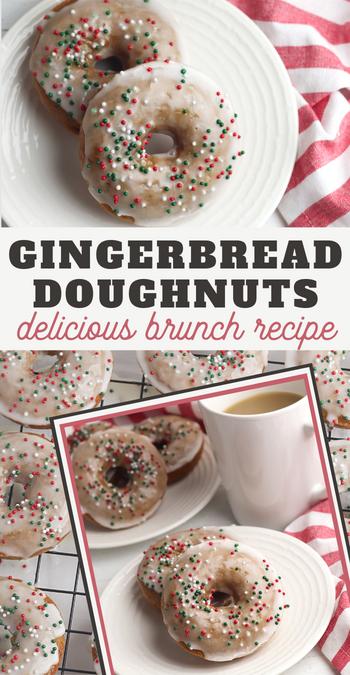 gingerbread donuts recipe