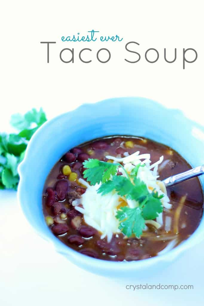 Taco Soup on the Stove