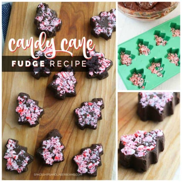 Easy Candy Cane Fudge Recipe