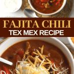 fajita chili recipe