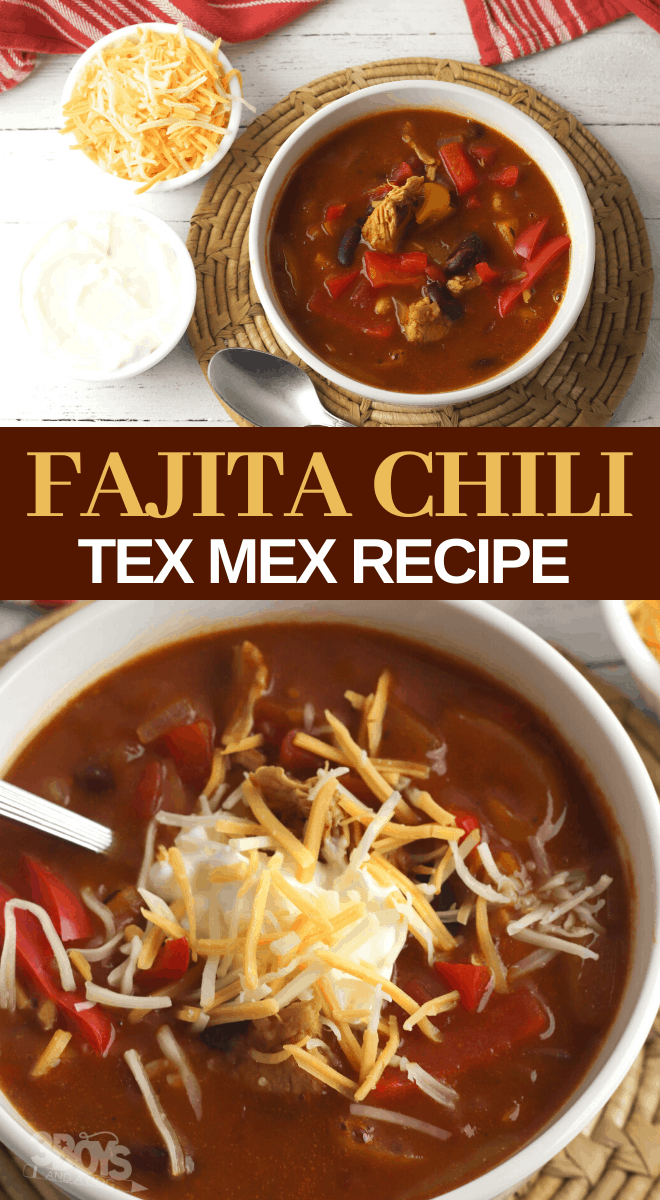 fajita chili recipe