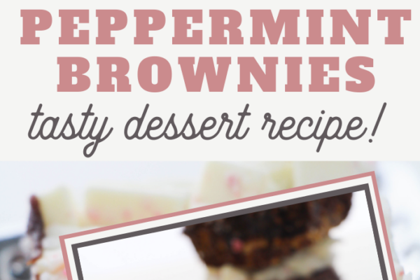 recipe for peppermint bark brownies