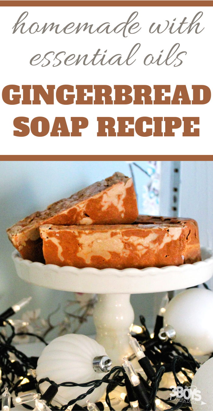how to make gingerbread soap at home