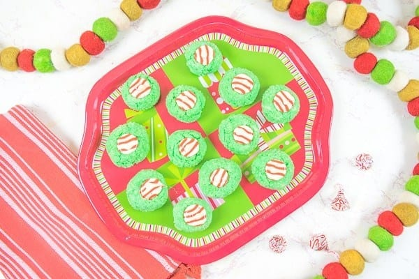 Grinch Christmas Cookies
