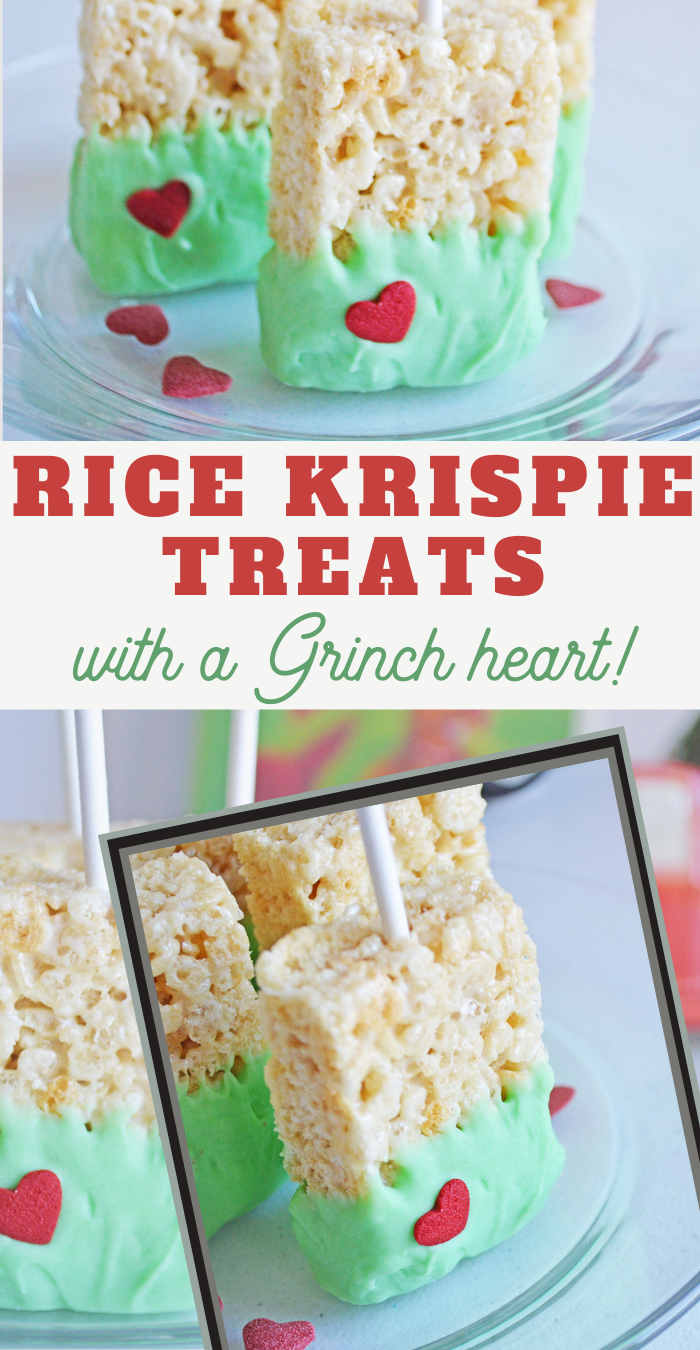 Grinch Rice Krispie Treats