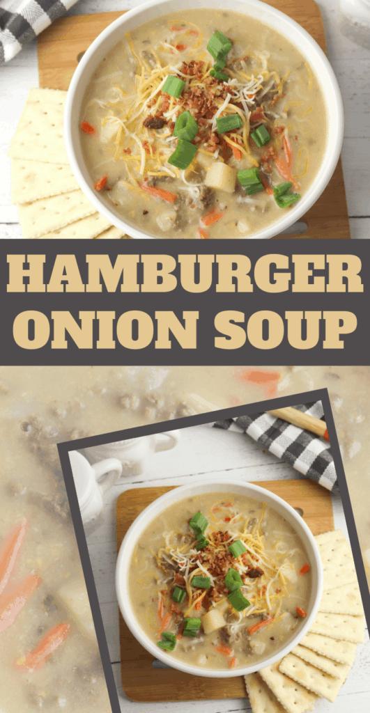 delicious onion hamburger soup recipe