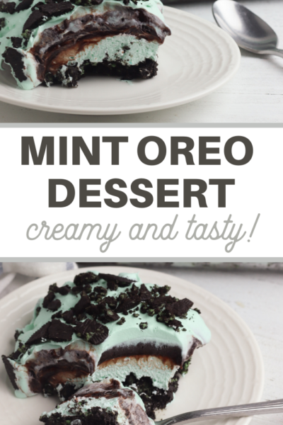 oreo cookie mint ice cream dessert recipe
