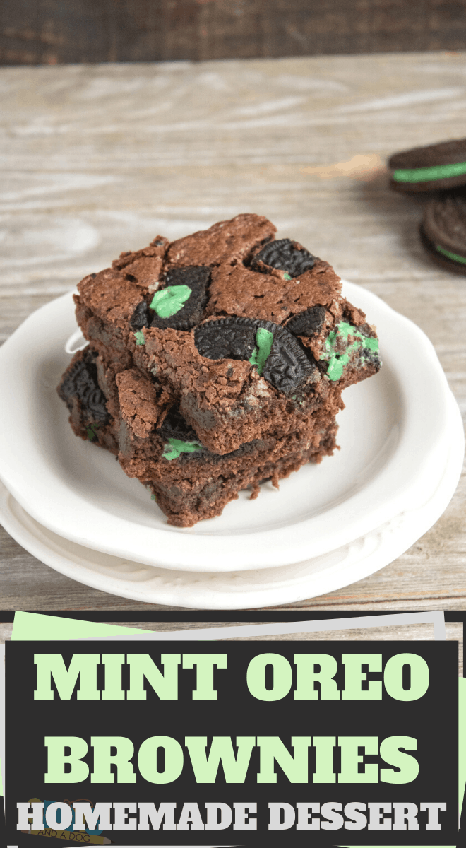 mint OREO pieces make a delicious chocolate mint brownie recipe