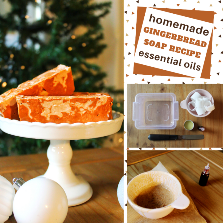 make your own gingerbread soap