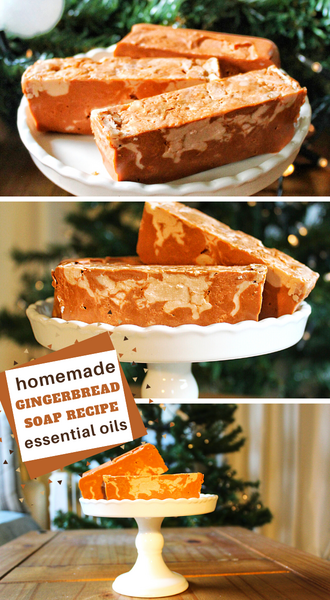 natural gingerbread soap recipe with essential oils