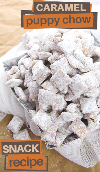 caramel muddy buddies recipe