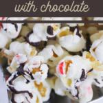 peppermint almond bark popcorn recipe