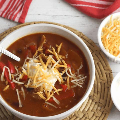 chicken fajita chili recipe