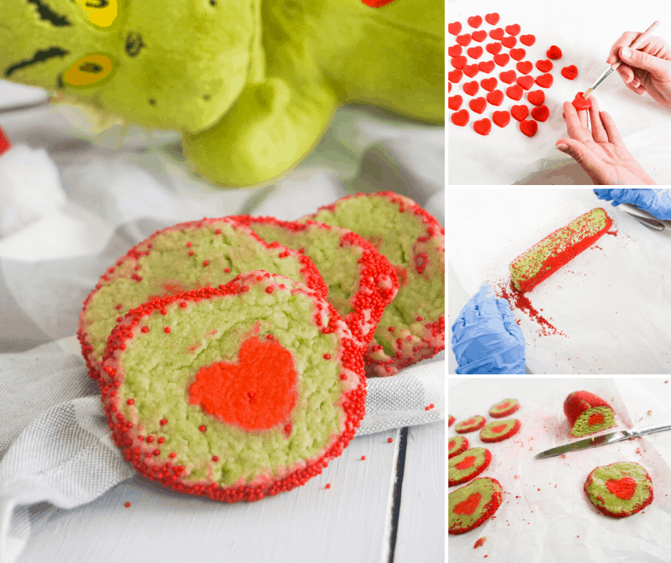 easy Grinch cookies