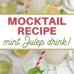 recipe for mint julep mocktail