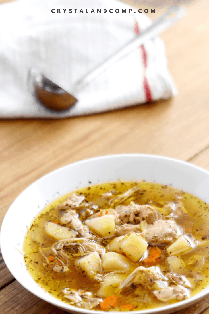 Instant Pot Whole30 Chicken Soup