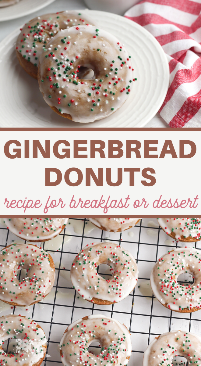 this holiday brunch recipe is full of wonderful gingerbread flavor